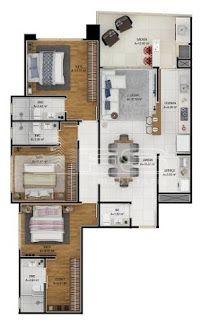 561 - Sunview Residence - Pré Lançamento - 3 suítes - Meia Praia - Itapema/SC ~ WWW.FSIMOBILIARIA.COM