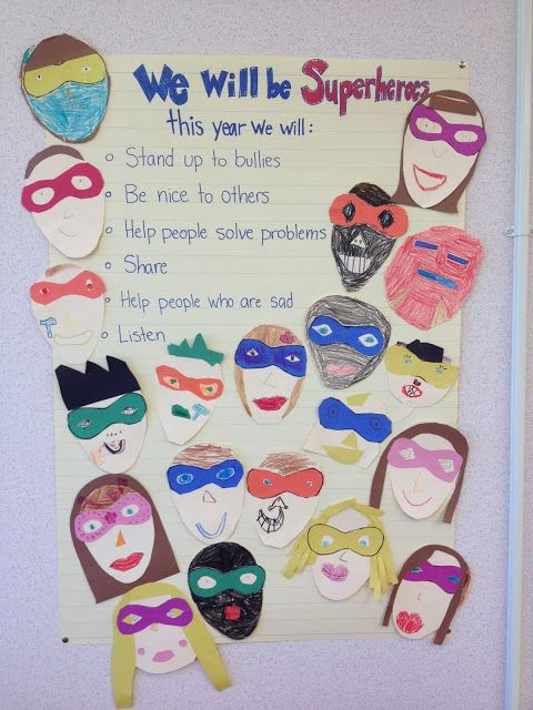 A Love for Teaching: Superheroes for the year!