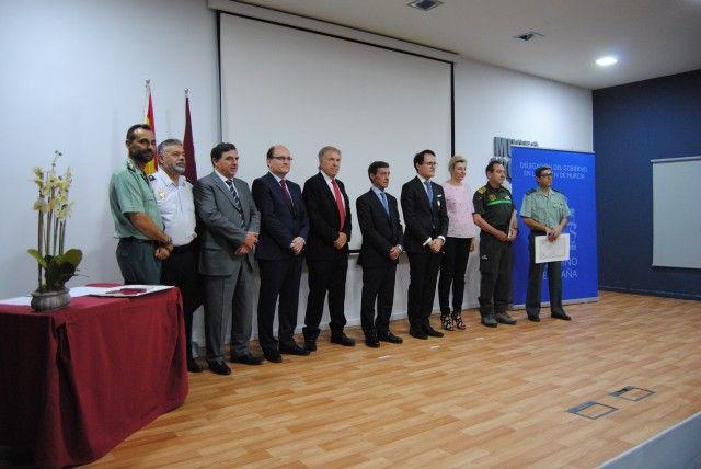 La Delegación del Gobierno entrega las Medallas al Mérito de la Protección Civil a ex fiscal de Medio Ambiente, al Seprona y a la Brida