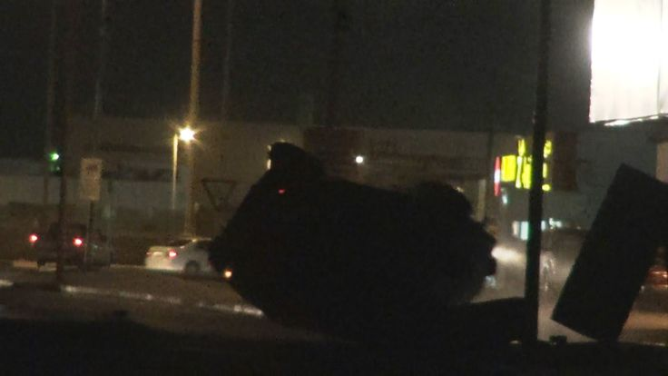 انقلاب مدرعة الحرس الوطني أثناء قمع مظاهرات في النويدرات 9/7/2016 Bahrain
