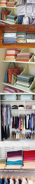Как навести порядок в шкафу — Делимся советами