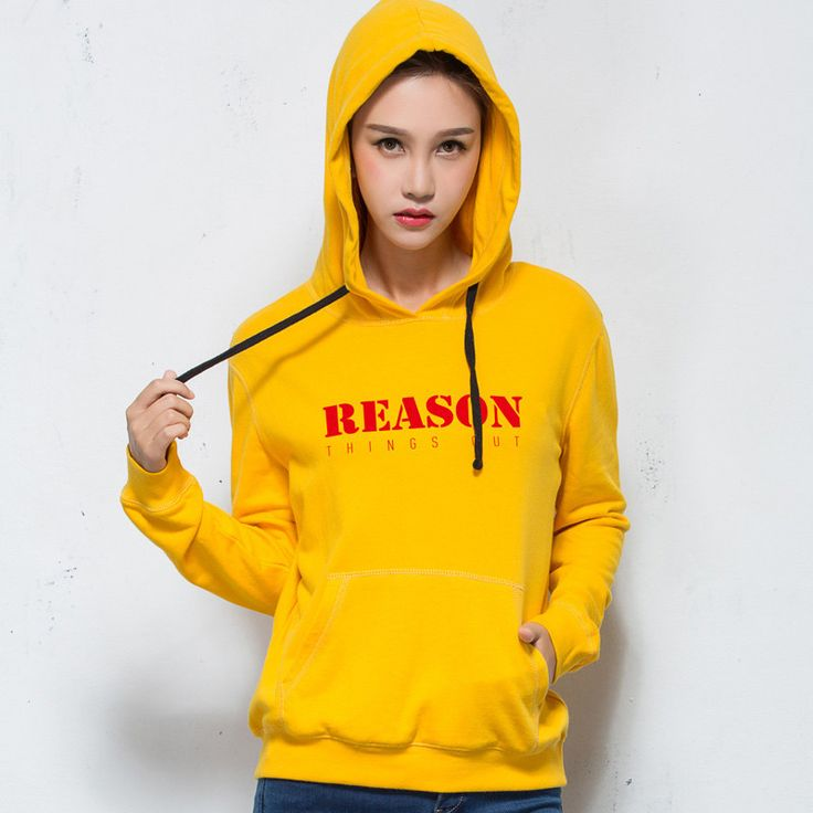 Langmeng solid color 100% cotton Hoodies Sweatshirt men Women Couples Hoodies New Fashion Tracksuit Print Coat unisex look