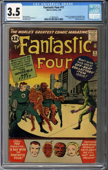 Now available: Fantastic Four #1... #comics    http://coloradocomics.com/products/fantastic-four-11-cgc-3-5?utm_campaign=social_autopilot&utm_source=pin&utm_medium=pin