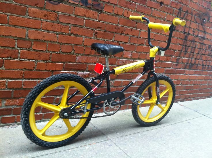 Yup...  a 1980's Mongoose BMX bike.  We all had them, we all wanted them, and had to have the pads...  #Retro #SiliconValley
