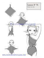 Tuto nouer un foulard en robe http://www.princessefoulard.com