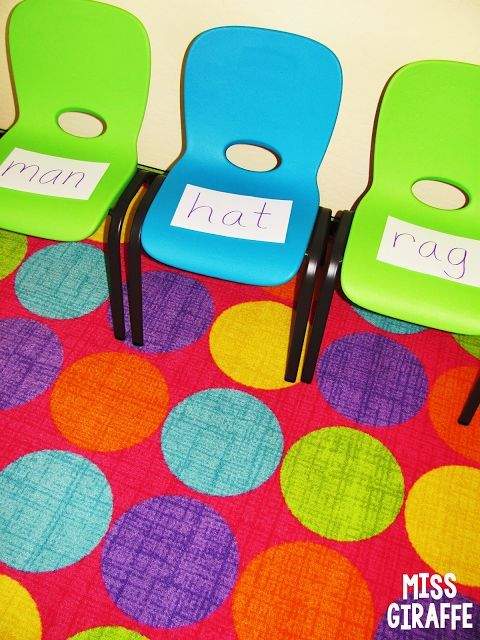 Musical READING Chairs... best idea ever!! Soo many great word work activities and ideas on this blog post - read it all!!