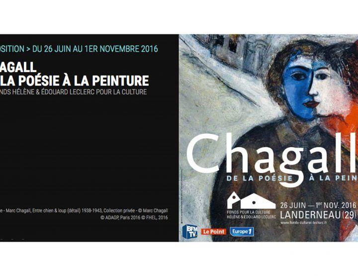 Landerneau : 300 œuvres du peintre Marc Chagall exposent au Fonds Hélène et…