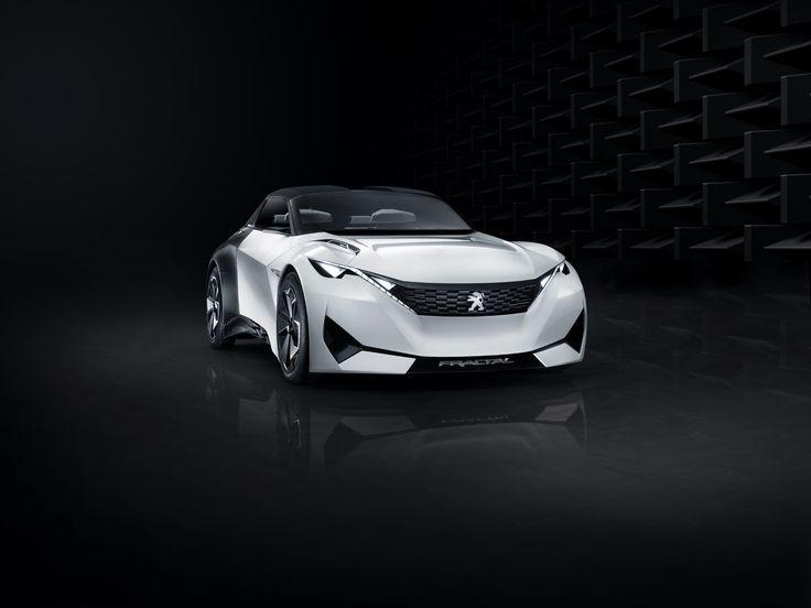 The Peugeot Fractal concept is an electric urban coupé that exhilarates all your senses.