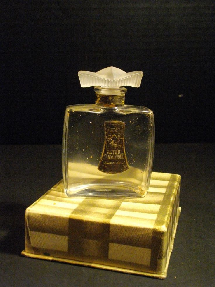 Rare Antique C 1917 Kutch Sandalwood Perfume Bottle BY AA Vantines BOX Included | eBay