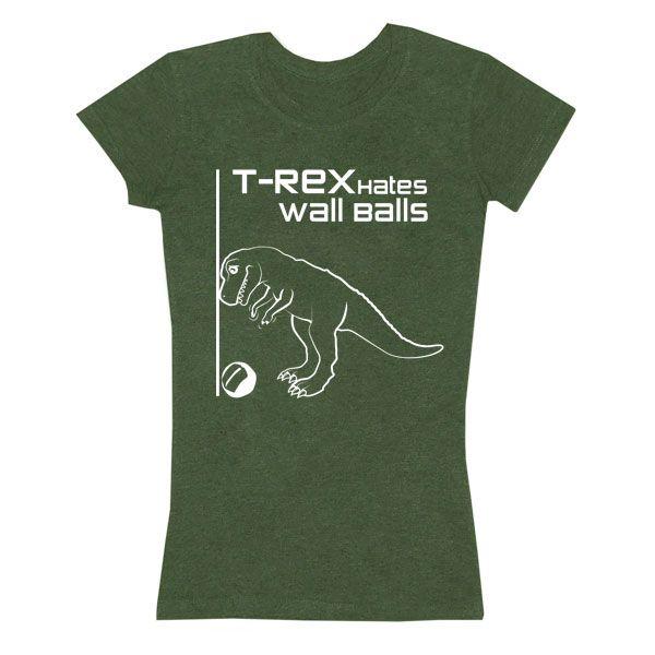 T-Rex Hates Wall Balls: Good Workout