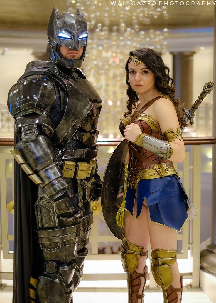 Batman and Wonder Woman #cosplay   RICC 2016 - photo by Tom DeRosa