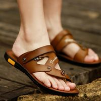 Tidog summer sandals male Korean beach shoes leisure dual-purpose sandals