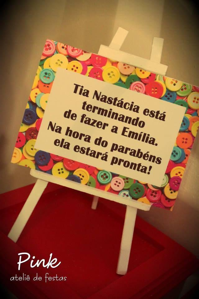 Pink Atelie de Festas | Festa Sítio do Picapau Amarelo