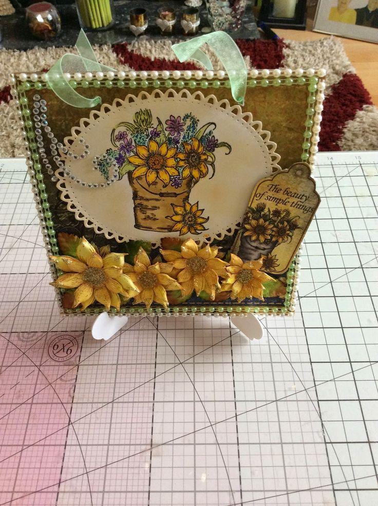 Kraftycards by Chris: Sunflowers
