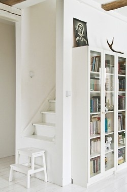 for the attic? I like the stool on the bottom... take it away and little ones can't get up there... plus it's a shorter staircase... takes less room