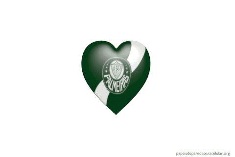 Papel de Parede Gif Animado Coração Palmeiras 480x320