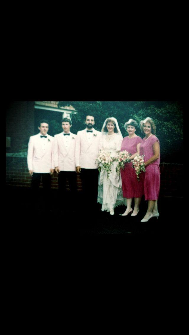 1986 Wedding