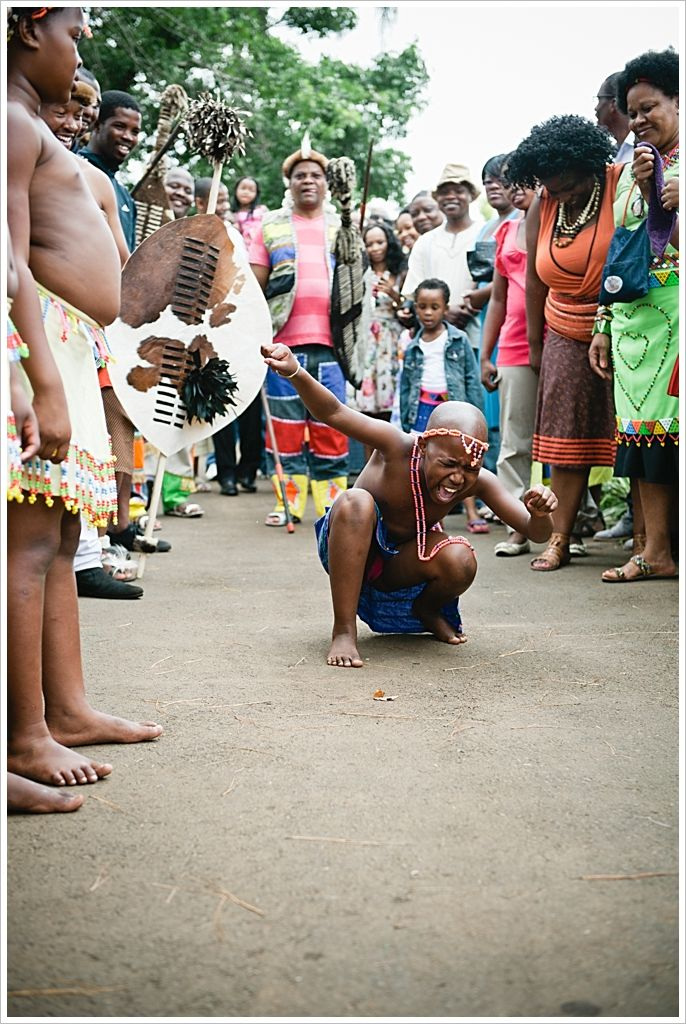 Zulu wedding celebration. Dancing. Africa