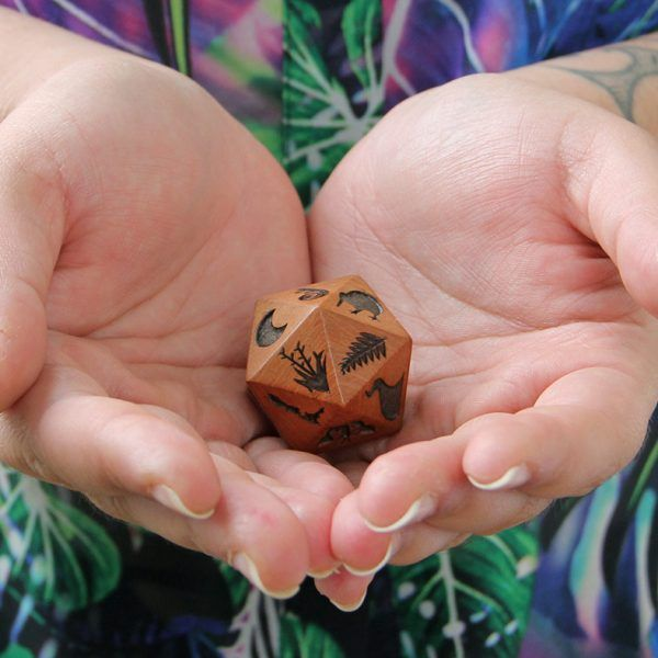 $120.00 including GSTStars of Aroha® Native Wood Rolling Star. Native Wood Rolling Star  Select Your Guided Meditation  The Native Wood Rolling Star is an icosahedron (20 triangle-sided) shaped dice adorned with 20 unique symbols. When at a stand still the Rolling Star reveals a symbol on its uppermost flat surface. The meditation symbol can be located in the Stars of Aroha Meditation book.