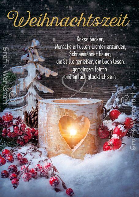 Weihnachtszeit - Postkarten - Grafik Werkstatt Bielefeld