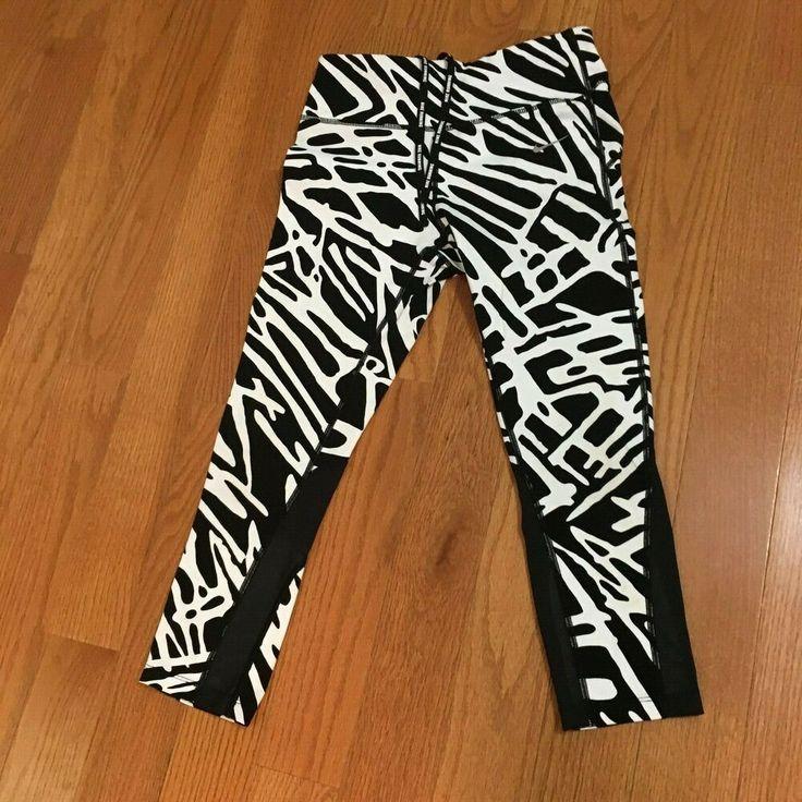 Nike drifit activewear capri tight pants yoga run small 4