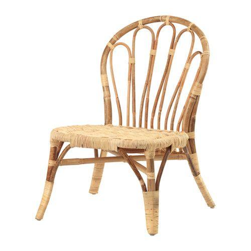 IKEA - JASSA, Fauteuil, Fait à la main par des artisans qualifiés, ce qui rend chaque produit unique.Trouvera sa place aussi bien dans un salon que dans une véranda.Le vernis transparent crée des variations de couleur naturelles et protège le meuble de l'usure.