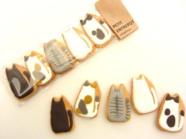 Cat cookies.アイシング