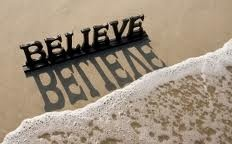 Power of Believing Can Be A Powerful Weapon.  The power of your thoughts and belief system can over power any type of occasion in our life.