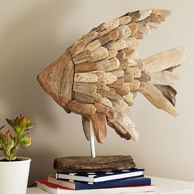 205 best images about driftwood crafts on pinterest for Drift fish house