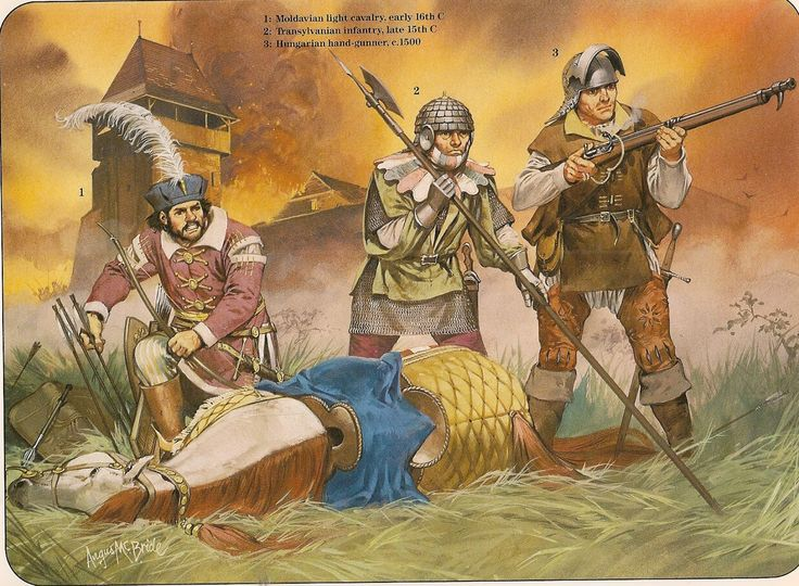 16th century Eastern European troops by McBride