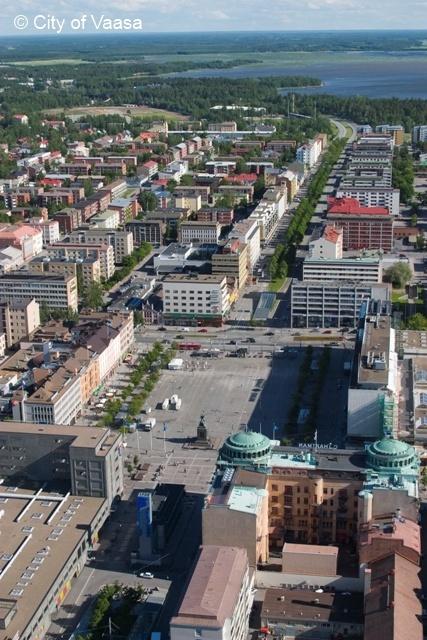 City centre @ Vaasa. www.visitvaasa.fi. Photo: Jaakko J Salo