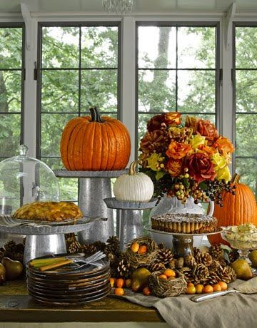 Rustic Elegance Fall Table Setting