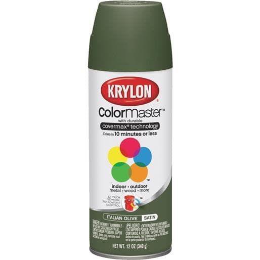Krylon/Consumer Div Satin Olive (Green) Spray Paint K05352207 Unit: Each