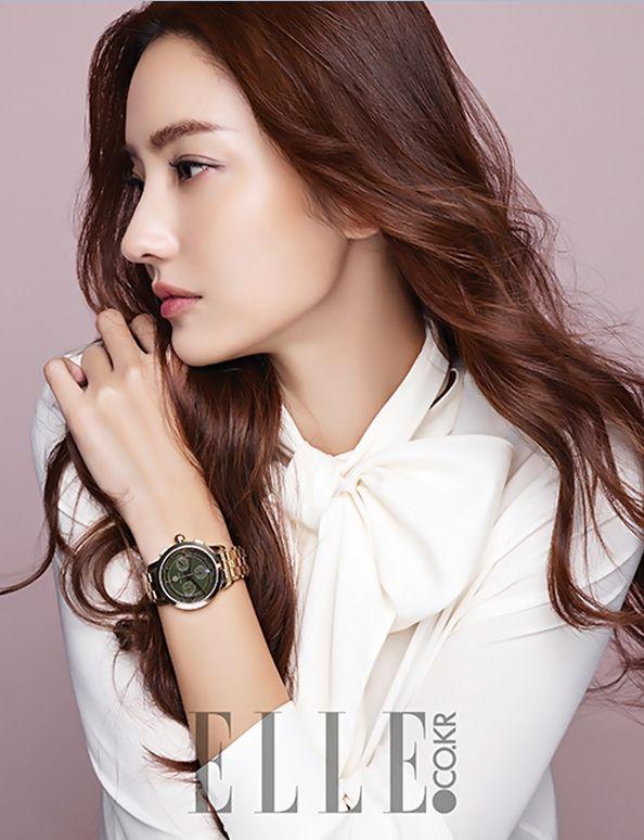 Han Chae Young Elle Magazine December 2015 photos