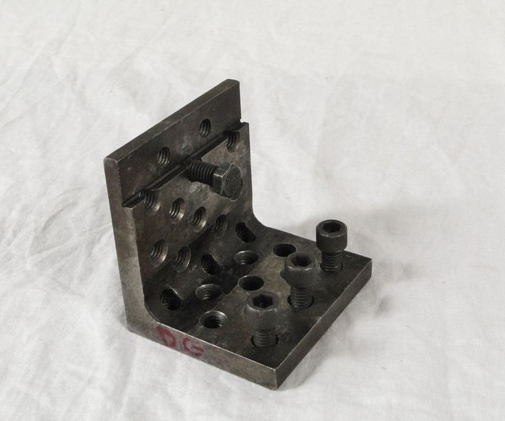 Machinist L Shape Threaded Traingle Spacer Block Tooling Mill Press Grinding CNC #Machinist #L-Block #L #Shape #Triangle #Spacer #CNC #Mill #Tool #Lathe #Mill #Press #Clamp #Drill #Tooling #Metal #Steel #Metalwork #Machine  0203