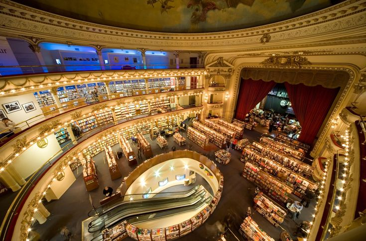 Twelve of the world's most beautiful bookshops - in pictures