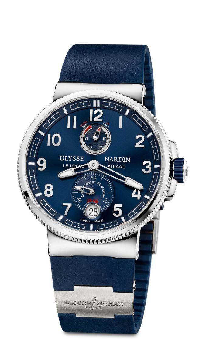 Ulysse-Nardin Marine - Chronometer Manufacture