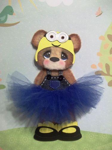 ELITE4U Tear Bear Tutu Girl Minion Paper Piecing Premade Scrapbook Album Card | eBay