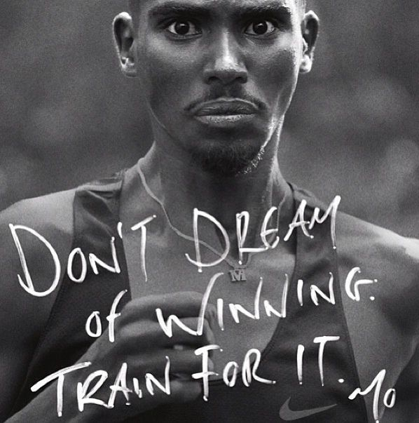 A huge inspiration for me, Mo Farah is the double Olympic Gold medallist in the 5k & 10k from the 2012 London Olympics.