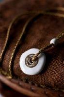 leather + porcelain