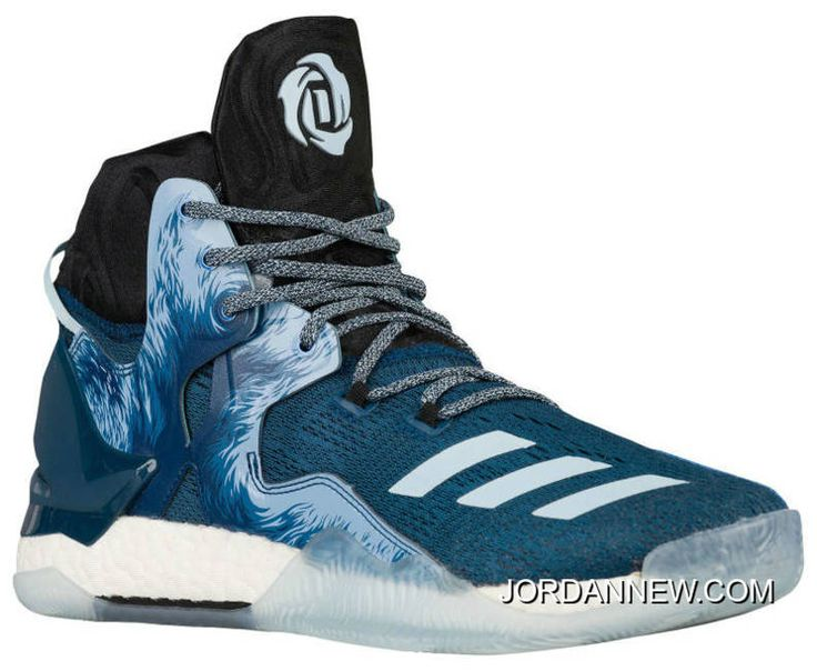 adidas Performance Men\u0027s D Rose 7 Basketball Shoe, Tech Steel Black/Ice Blue  Fabric, M US