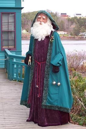 I love Santas from other countries ...#Father Christmas, Nova Scotia, Canada