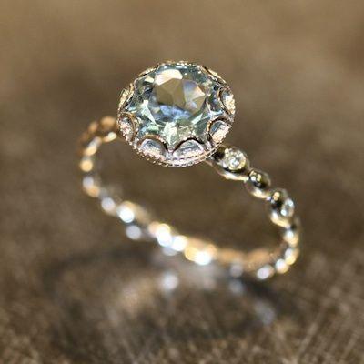 non diamond engagement rings