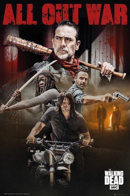 9 5 Walking Dead All Out War Poster 24x36 52489 Ebay