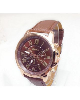 Women Fashion Luxury Watch - Brown
