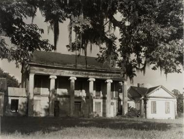 Woodlawn Plantation in 1948 (Clarence John Laughlin).