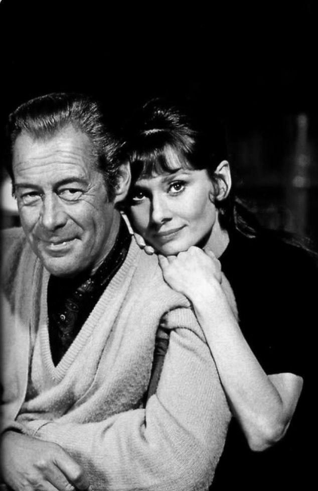 Audrey Hepburn and Rex Harrison- My Fair Lady