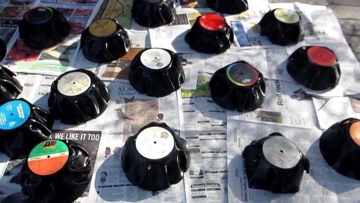 Vinyl Record Art Ideas