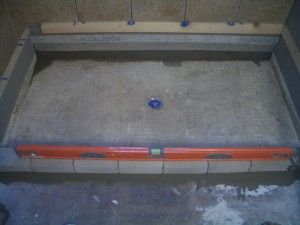 How to mud a shower floor for tile.