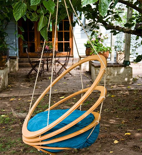 How to make a hanging garden chair – home stuff